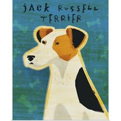 Poster Print Wall Art entitled Jack Russell Terrier