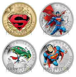 2014 Canada Superman - All 2014 Superman Coins Set - Comic Book Covers -in Stock