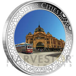2013 Melbourne Anda Coin Show Special - Sister Cities Lenticular Proof Silver 1