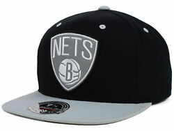 Brooklyn Nets Mitchell And Ness Nba Reflectice Fitted Cap New With Tags