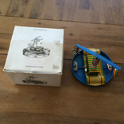 look feel boat plane blimp tin wind up toy