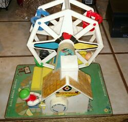 fisher price 969 music box ferris wheel
