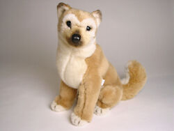 Shiba Inu Puppy By Piutre Hand Made In Italy Plush Stuffed Animal Nwt
