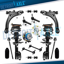 16pc Front Complete Strut Set And Suspension Kit For Chevrolet Chevy Buick - Fwd