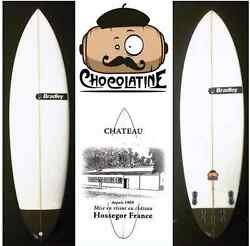 Planche Surf Bradley Chocolatine Surfboard Option Quad + Derives Fcs2 5and0394 Andagrave 6and0396