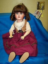 german doll 24 marked at neck heubach look