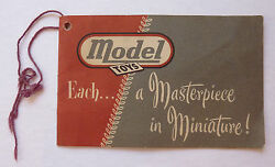doepke model toys early 1950s string