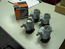 4 Brand New 1932 Ford Coupe Roadster Barn Find Stromberg 97 Carb Carburetors