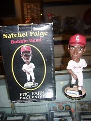 SATCHEL PAIGE PITTSBURGH CRAWFORDS PIRATES BOBBLE HEAD DOLL STADIUM GIVE AWAY $40.00