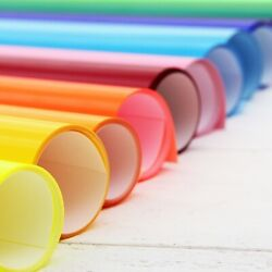 Htv Heat Transfer Vinyl 20 Wide By The Yard - Ez Weed - Cricut -42 Solid Colors