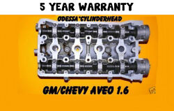 Gm Chevy Aveo 1.6 Dohc Cylinder Head Years 04-07 Reman