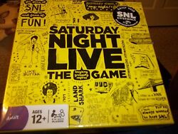 Saturday Night Live The Game New In Box Ages 12+ Test Your Knowledge Fun Game