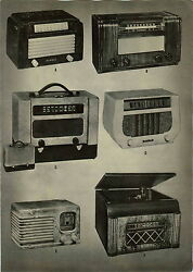1947 Paper Ad 2 Pg Dewald Radio Record Player Phonograph Catalin Tyre Jewel
