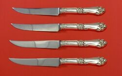 La Marquise By Reed And Barton Sterling Silver Steak Knife Set 4pc Hhws Custom
