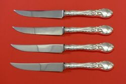 La Parisienne By Reed And Barton Sterling Silver Steak Knife Set 4pc Hhws Custom