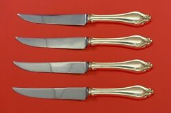 La Perle By Reed And Barton Sterling Silver Steak Knife Set 4pc Hhws Custom Made