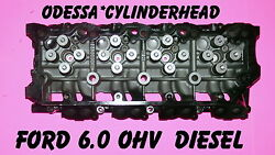 Ford 6.0 Turbo Diesel F350 Truck Cylinder Head Cast080 Only 02-06 18mm Rebuilt