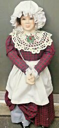 Department 56 | Mrs Cratchit Doll New 28 In Christmas Carol Figurine Heritage