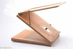✅ Retouching Device Retouch 6x9cm Glass Plate Cameras Antique Wooden Size Format