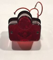Mc416-6v Yamaha Style Stop And Tail Lamp Assembly 6 Volt Loc9-28