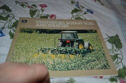 John Deere Cultivators, Rotary Hoes And Sprayers For 1985 Dealers Brochure Dcpa5