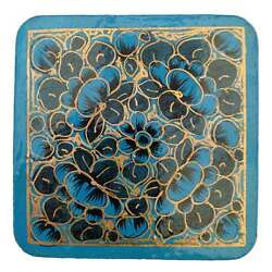 Papier-Mache Coasters - Recycled Paper - Handmade in India - Fair Trade