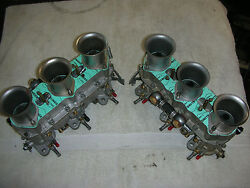 Zennith 40 Tin 3 Barrel Carbs Fully Rebuilt All New Gaskets 0-rings Perfect