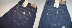 Leviand039s Womenand039s 515 Classic Boot Cut Mid Rise Blue Jeans Sizes Nwt New