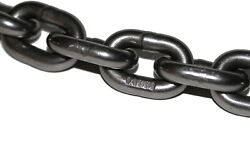 9/32 Grade 100 Lifting Chain 400 Ft Bulk Drum For Rigging Towing Industrial Tow