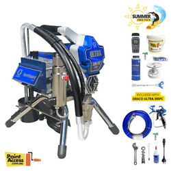 Graco Ultra 395pc Pro Electric Paint Sprayer Stand 17e881