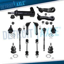 13pc Front Suspension Kit For 2001-2006 Chevy Tahoe With Torsion Bar Suspension