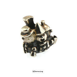 Authentic Trollbeads Silver Singing In The Snow 11372