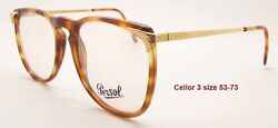New Vintage Ratti Persol Cellor 3 Havana Tortoise And Gold Frame Sunglasses