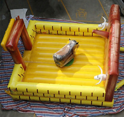 20x20 Commercial Inflatable Thrilling Rodeo Bull Ride Amusement Bar We Finance