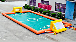 60x30 Commercial Inflatable Soccer Field Sports Arena Ball Game We Finance 100%