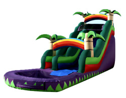 33x14x9 Commercial Inflatable Bungee Run Wipeout Obstacle Course Game We Finance