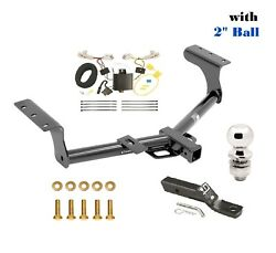 Class 3 Trailer Hitch Package W 2 Ball For 2013-2018 Toyota Rav4