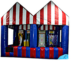 35x20x20 Commercial Inflatable Carnival 4in1 Game Tent Advertising Event Wedding