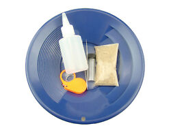 Gold Rush Mining Kit Real Paydirt-blue Gold Pan-vial-snuffer-tweezers-loupe
