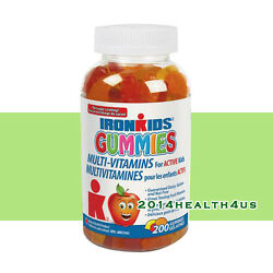 Iron Kids Gummies Multi Vitamins 200 Gummies