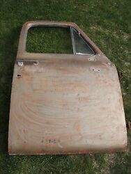 1953-1955 Oem Ford F100 Passanger Door W/ Hinges Used Vintage And Rare Find