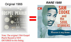 Sam Cooke And The Soul Stirrers - Heaven Is My HomeGOSPEL PEARLS LP 1988