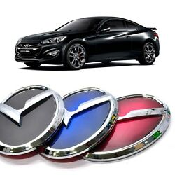 3d K Logo Trunk Rear Emblem Black Blue Red For Hyundai Genesis Coupe 2013+
