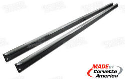 1965 - 1967 C2 Midyear Corvette Rocker Panels For Cars With Side Exhaust Pair
