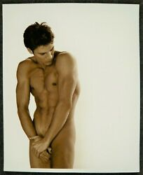 Greg Gorman And039michael Loomis La 1998and039 Male Nude Signed Photograph Gay Interest