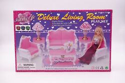 My Fancy Life Gloria, Barbie Size Doll Furniture/2317 Deluxe Living Room