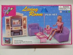 Gloria Doll House Furniture/24012my Fancy Life Living Room Play Set