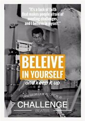 Muhammad Ali The World#x27;s Greatest Boxer Art Print Wall Poster 34quot;x24quot; 044
