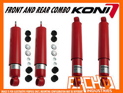 Koni Adjustable Front And Rear Shock Absorbers For Toyota Landcruiser 75 1984-1990