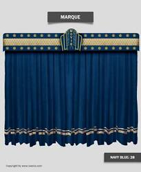 Saaria Stage Decorative Movie Velvet curtains Event Hall Home Theater 12'W x 8'H